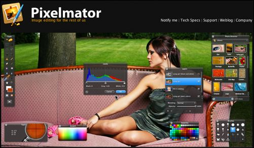 pxl Pixelmator! A Photo editor thats sexy?