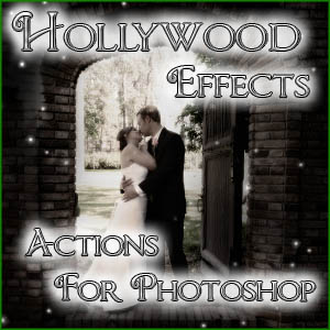 ad Hollywood Effects. Actions for Photoshop are here