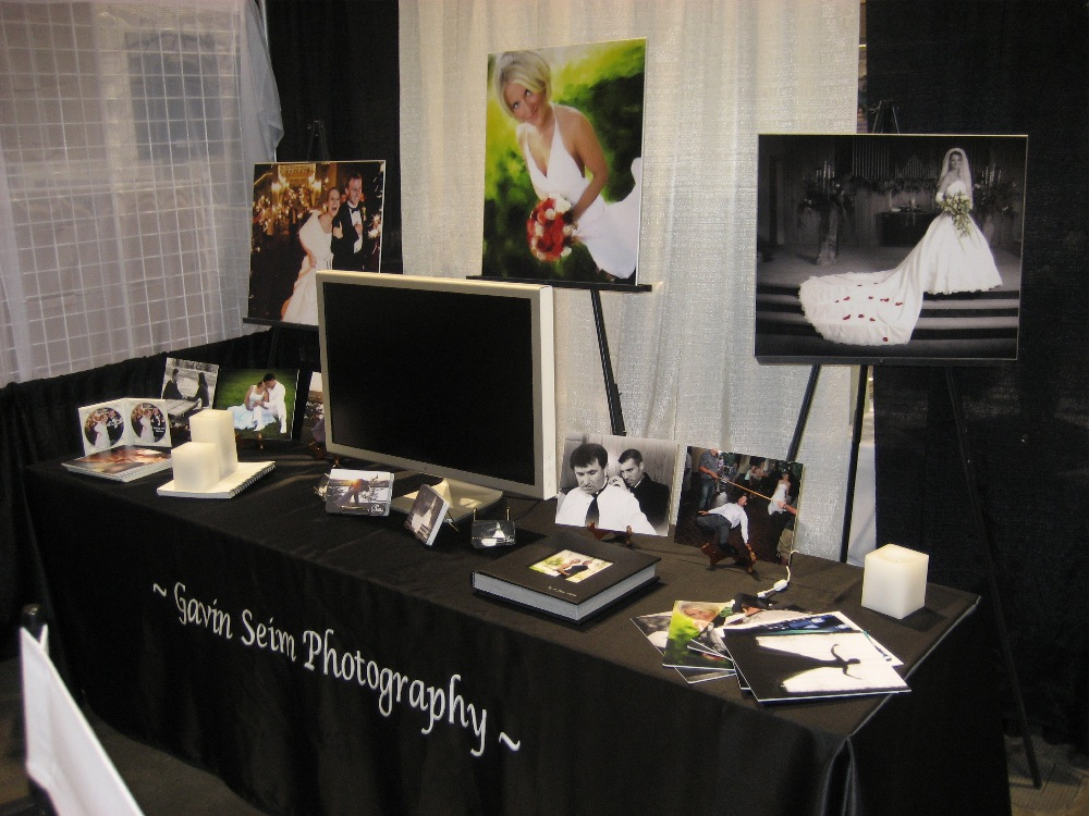 Lastly here a few few photo 39s of a few of my past bridal show setups