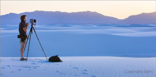Gavin Seim on White Sands 600x297 Best of Pro Photo Show   7 Years of Articles & Tips.