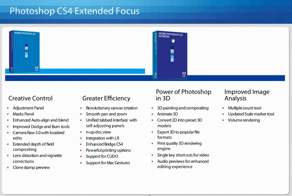 photoshop cs4 new features Adobe Photoshop CS4: Straight Dope Review