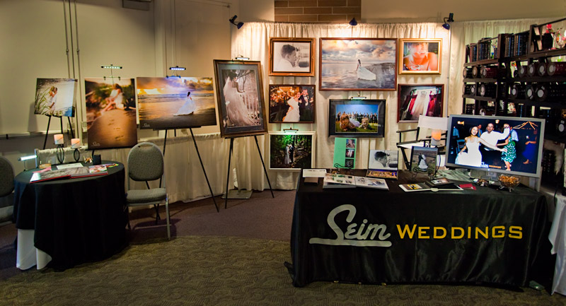 by Gavin Seim This weekend I had a booth at the Wenatchee Bridal Show
