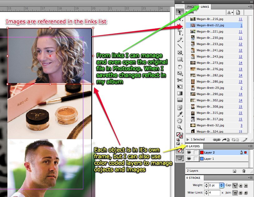 indesign 2 In Design CS4 Photographers Look. The Lightroom Of Album Design