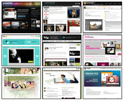 collage Ten Website Platforms for Photographers