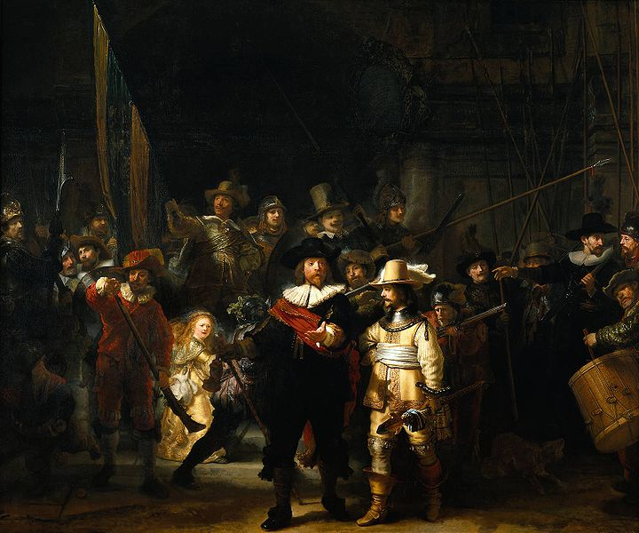 Nightwatch by Rembrandt 143x172 Wall Portraits   Why That 8x10 Is Stealing Your Career: