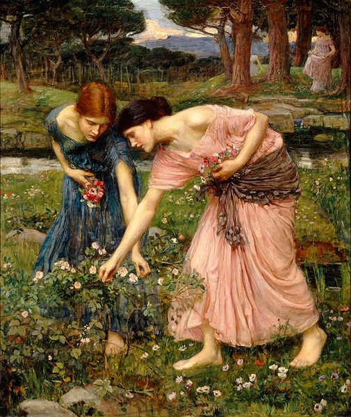 Waterhouse-gather_ye_rosebud_39x32
