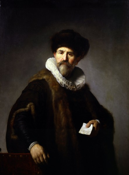 46x34 Rembrandt Portrait of Nicolaes Ruts 442x600 Wall Portraits   Why That 8x10 Is Stealing Your Career: