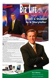 Ken Malloy, anchor for CBS 47 in Fresno