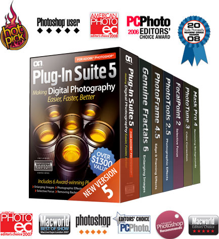 suite5 awards boxes OnOnes Plugin Suite 5 is here & On SALE.