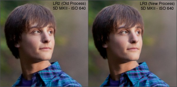 LR2 vs LR3 iso640 600x297 Lightroom2 VS Lightroom3 Process Examples Compared: