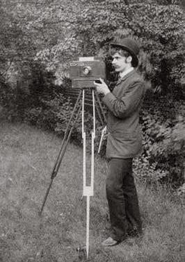 Alfred Stieglitz self portrait freienwald 1886 The Huge List of Awesome Quotes from Renowned Photographers & Artists.