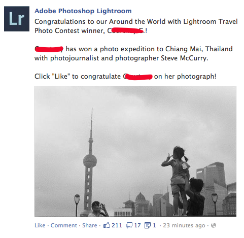 Lightroom Contest 4 Take a Bad Photo, Win a Trip to Thailand?