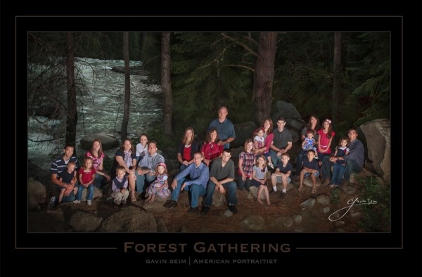 forest gathering family portrait 600x394 Why So Many Professional Photos Look So Bad!