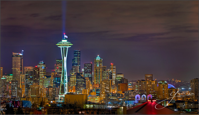 Seattle at Night Gavin Seim Five Classic & Simple Elements to Mastering Photography: