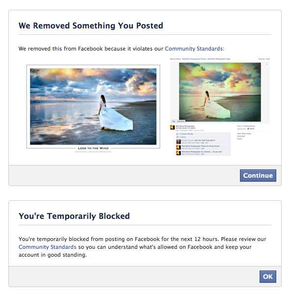 Facebook Removed The Case of a STOLEN Photo & Facebooks PUNISHMENT   Of the Victim