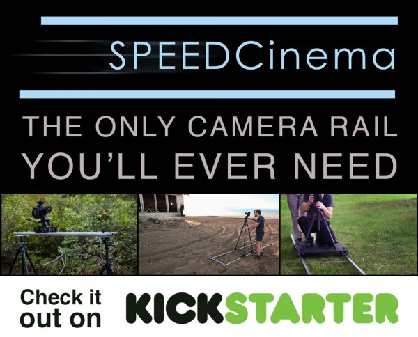 poster2 600x484 Atomic Feather Launches Kickstarter for a Unique Portable Camera Dolly.